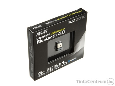 "ASUS ""BT400"" Bluetooth adapter, v4.0, USB 2.0"
