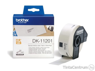 Brother DK-11201 (29mm x 90mm, 400db) eredeti etikett