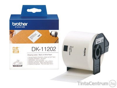 Brother DK-11202 (62mm x 100mm, 300db) eredeti etikett