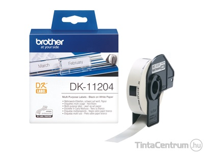 Brother DK-11204 (17mm x 54mm, 400db) eredeti etikett