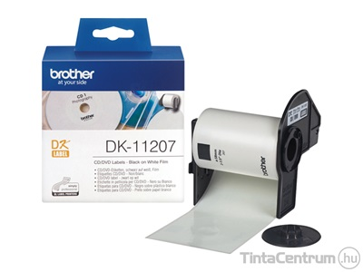 Brother DK-11207 (58mm, 100db) CD/DVD lemez etikett