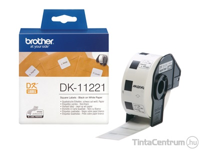 Brother DK-11221 (23mm x 23mm, 1000db) eredeti etikett
