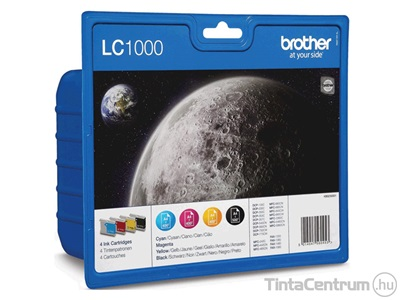 Brother LC1000 (BKCMY) eredeti tintapatron csomag