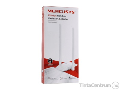 "MERCUSYS ""MW300UH"" Wi-Fi adapter, 2,4GHz, 300Mbps, USB 2.0"
