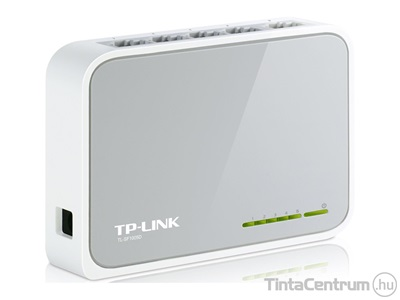 "TP-LINK ""TL-SF1005D"" asztali switch, 5 port"