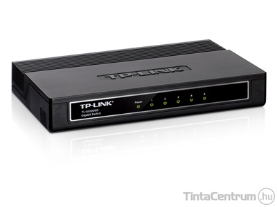 "TP-LINK ""TL-SG1005D"" asztali switch, Gigabit, 5 port"