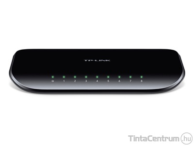"TP-LINK ""TL-SG1008D"" asztali switch, Gigabit, 8 port"